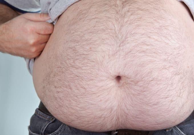 Bli av med tjock mage