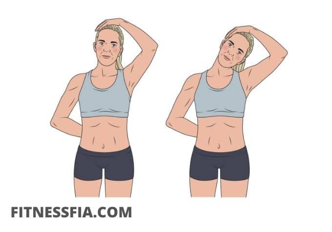 Trapesius stretch sträcka ut nacken