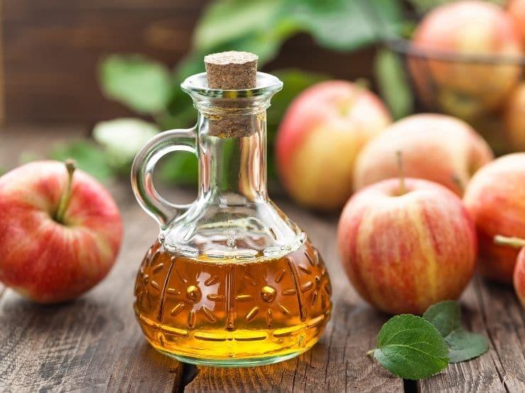 Äppelcidervinäger test hälsofördelar biverkningar