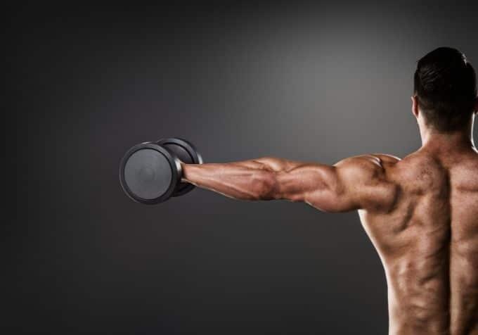 Muskler i axlarna