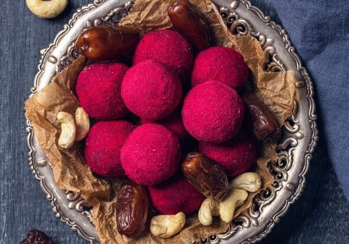 Rawfoodbollar cashewnötter